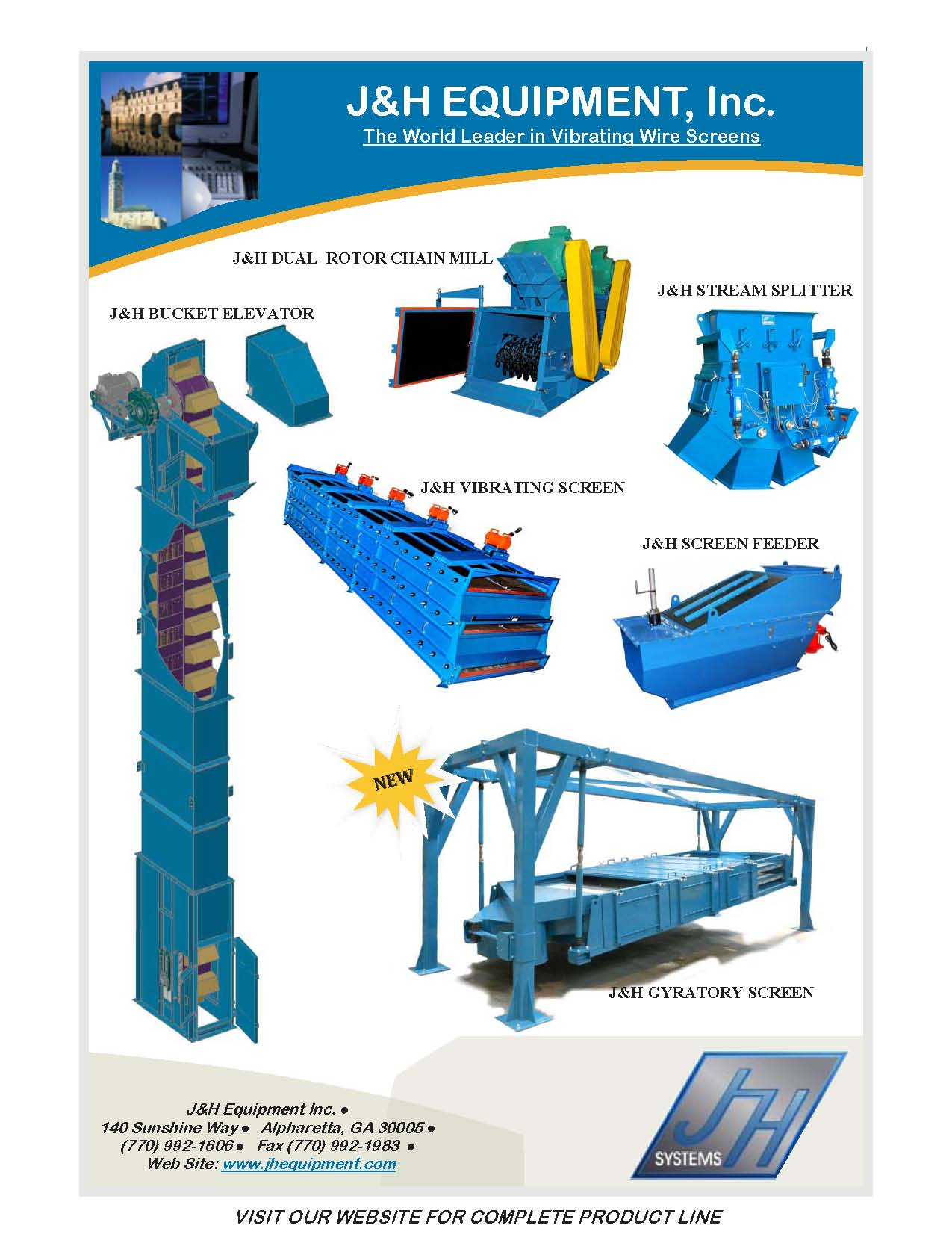 through what method can vibrating screen